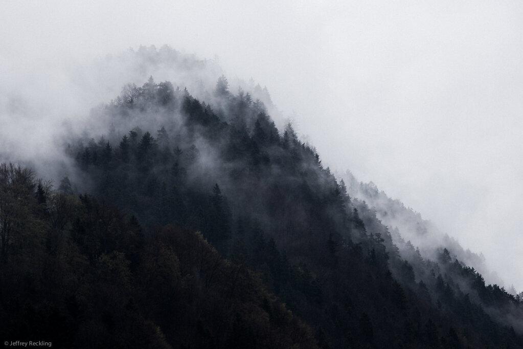 Mountain, Fog, Berchtesgaden, Schönau, Königssee, 04/2014